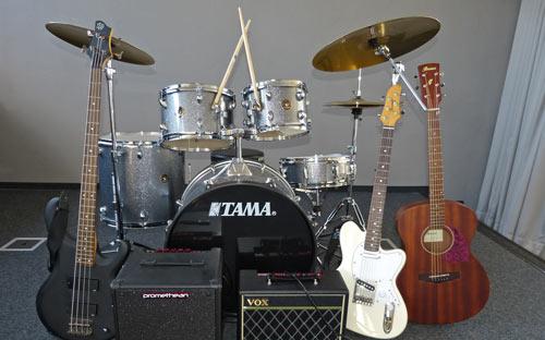 Musikclub Kuka finanzieren Bandequipment für Realschüler