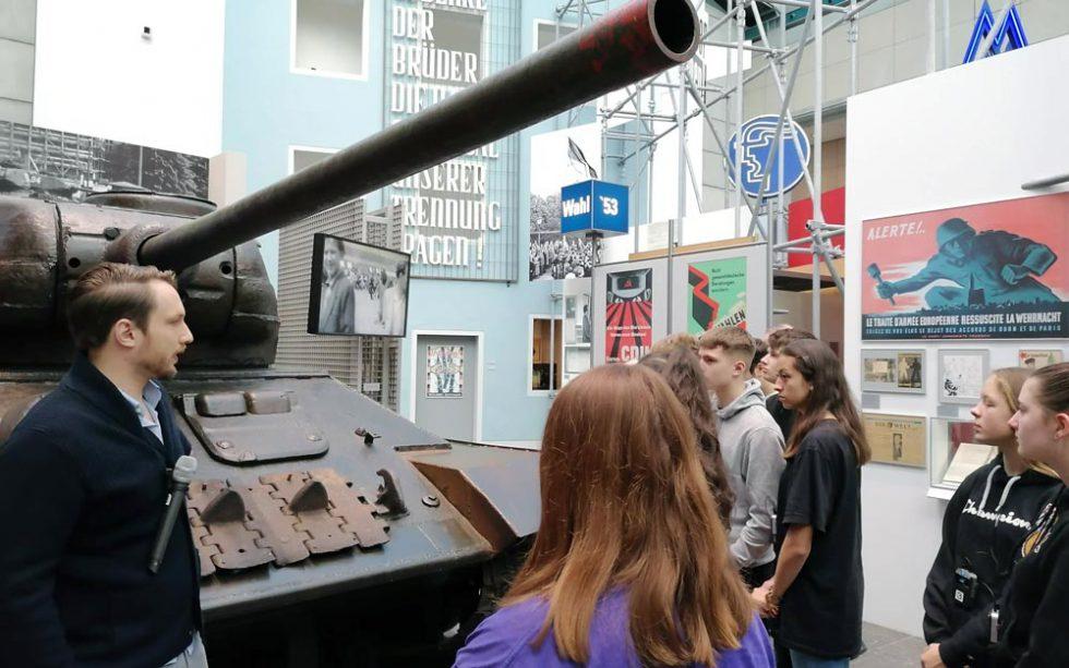 Exkursion nach Bonn ins Haus der Geschichte