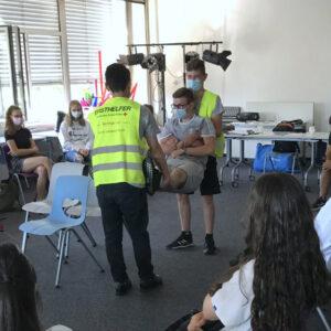 Schon Tradition: Erste-Hilfe-Kurse für den Führerschein Jahrgang 10